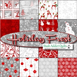 Holiday Frost Fat Quarter Bundle